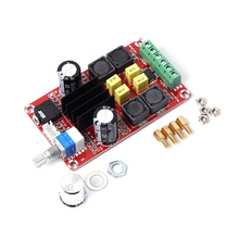 XH M189 TPA3116D2 Digital Power Amplifier Board Dual Channel Stereo Overvoltage Large Capacity Capacitor Audio Amplifier