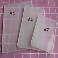 Wholesale A7/A6/A5 Notebook Shape Silicone Mold DIY Resin Book Mold Crystal Epoxy Silicome Mold Transparent Book Freeship
