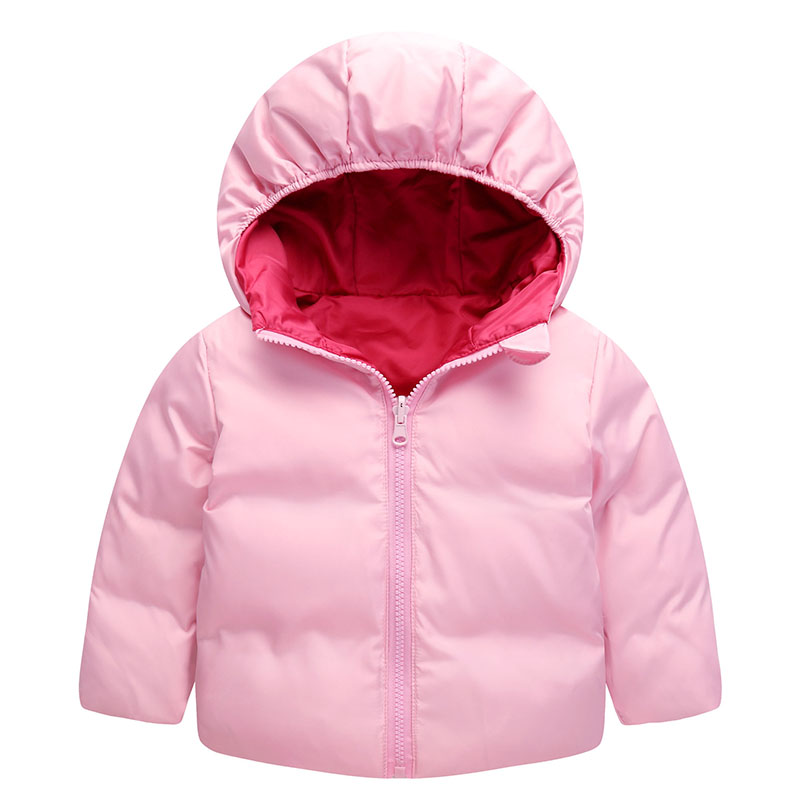 Brand Boys Girls Down Jacket Hooded Duck Warm Coat For Children Kids Parkas parkas Double to wear duck down jacket