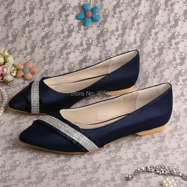 20 colorscustom navy bridal shoes pointed toe ballet flats wedding 20 colorscustom navy bridal shoes pointed toe ballet flats wedding casual shoes spring junglespirit Images
