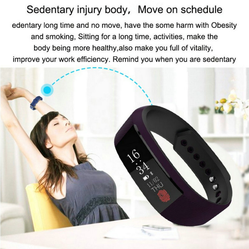 Best fitness bracelet W808S sports bracelet all compatible support heart rate monitor sleep tracker call reminder SMS reminder 7