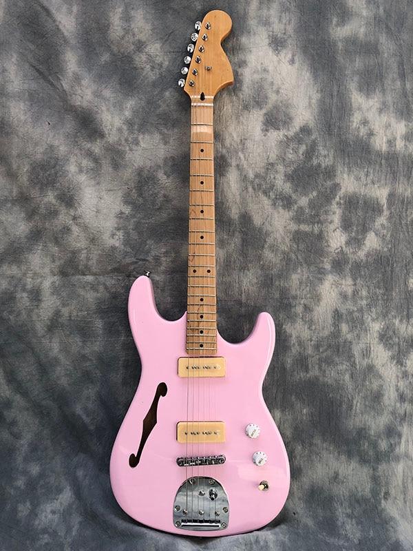 Guitare électrique F Hole manche guitare érable et touche érable livraison gratuite!