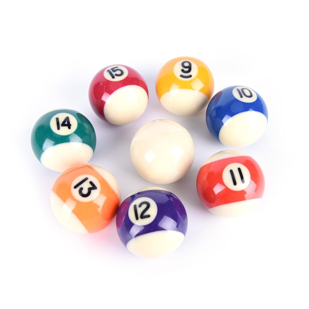 38Mm Resin Billiard Training Ball Practice Pool Balls Full Set Table Balls  Cue Ball For Kids Children