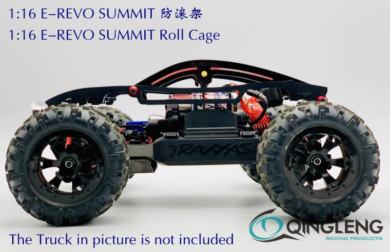 Imported Material Nylon  Roll Cage/protect Roll Cage For TRAXXAS 1/16 EREVO E-REVO SUMMIT(qingleng)