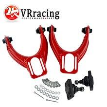 VR RACING-регулируемый(L& R) передний верхний рычаг управления развал комплект для HONDA CIVIC EK 96-00 красный, синий VR9871