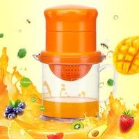 Hohe Qualität Tragbare Manuelle Zitrone Entsafter Mini Obst Entsafter Hand Zitrone Orange Citrus Squeezer Große Kapazität