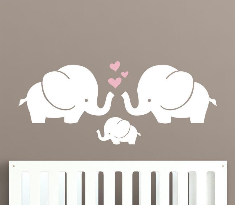 Elephant Wall Sticker Baby Nursery