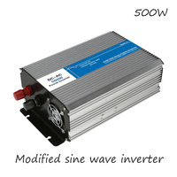 DC AC 500W Modified Sine Wave Inverter 12V To 220V Frequency Converter Voltage Electric Power Supply Digital Display USB China