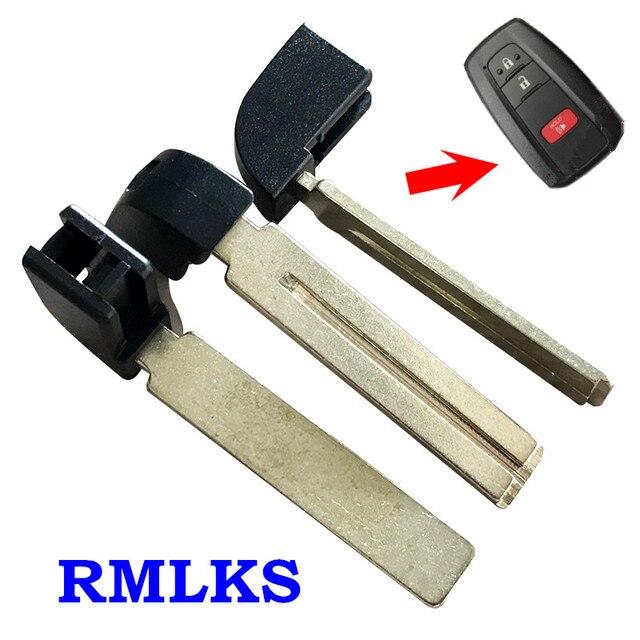 Новый Аварийный ключ вставка для Toyota Prius Camry Smart Key 2016 HYQ14FBC HYQ14FBE запасной ключ полотно