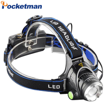 Hot 3800LM Headlight CREE T6 LED Head Lamp  Linterna Torch LED Flashlights Biking Fishing Torch for 18650 Battery