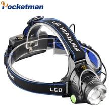 Hot 3800LM Headlight T6 LED Head Lamp Linterna Torch LED Flashlights Biking Fishing Torch for 18650