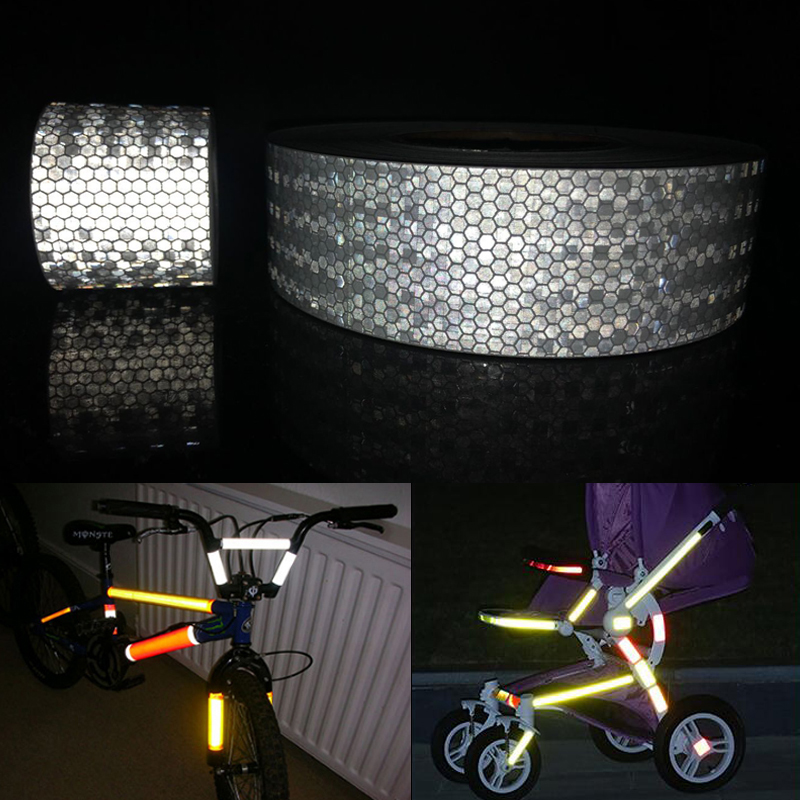 3M Reflective Adhesive Tape For Car Styling Motorcycle Decoration Reflective Warning Tape