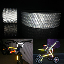 Reflective-Adhesive-Tape 3M Warning-Tape Motorcycle-Decoration for Car-Styling