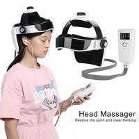 Electric Head Massager Pressure Vibration Helmet Acupuncture Brain Relax Massager Health Care