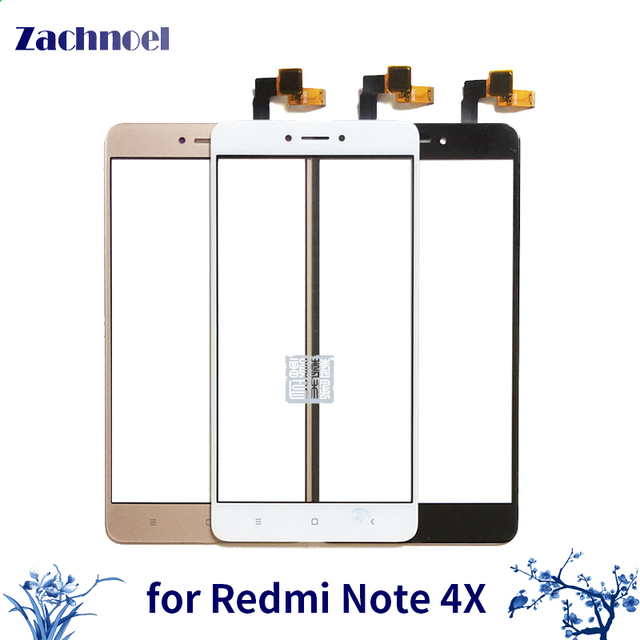 10pcs/lot for Xiaomi Redmi Note 4X Touch Screen Front Glass with Sensor Repair Replacement Touch Panel for Xiaomi Redmi Note 4X