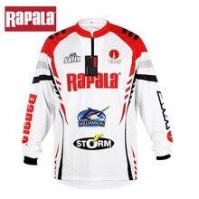 Стиль Rapala бренд RAPPW11 одежда для рыбалки жилеты быстросохнущие анти-УФ рубашки для рыбалки Спортивная одежда для велоспорта с длинным рукавом