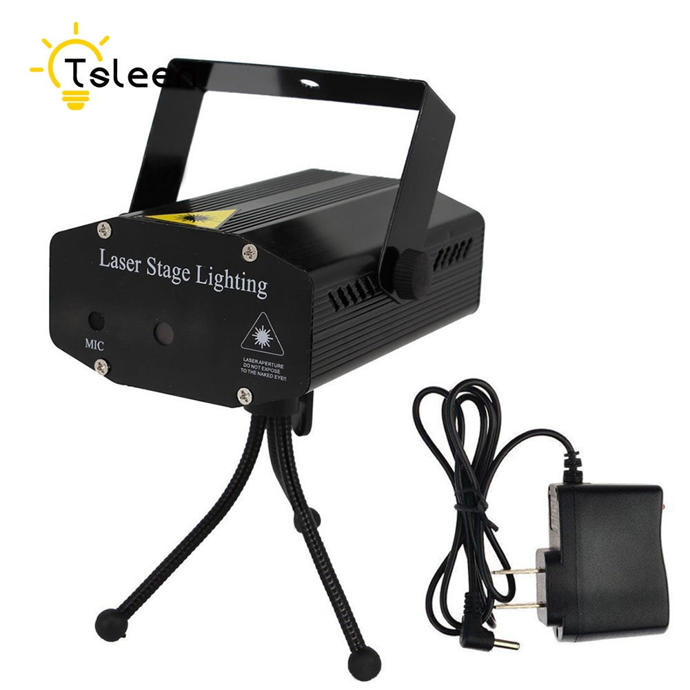 stage light disco light MINI R+G LED LAZER PROJECTOR DJ STAGE LIGHT FOR XMAS PARTY CLUB BAR WEDDING luces discoteca