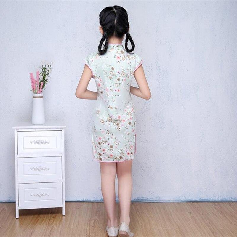Κινέζικα παραδοσιακά φορέματα Floral - Εθνικά ρούχα - Φωτογραφία 3
