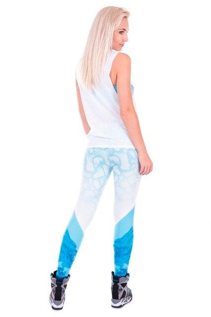 Ice Printed Women's Leggings