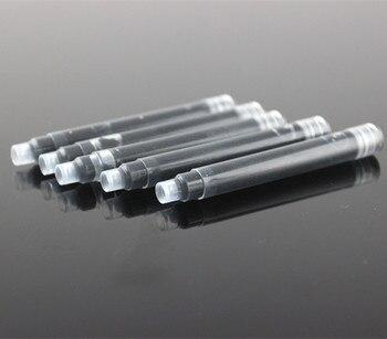 30 шт./лот JINHAO 2,6 мм Калибр Универсальный сменный черный и синий авторучка портативный чернильный картридж заправки