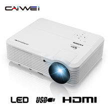 CAIWEI 1280*800 Full HD home theater led proyector 1080 p Soporte Digital HDMI VGA AV USB LCD China Proyector de la TV