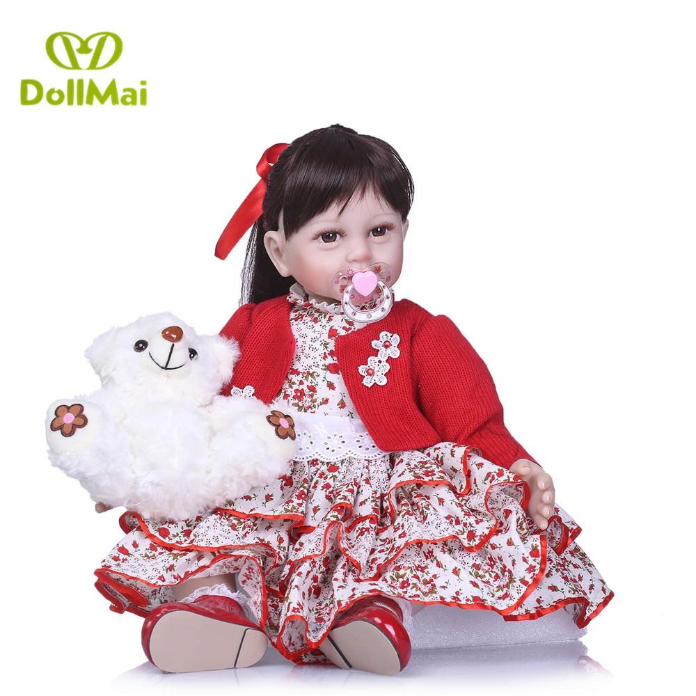 55 cm bebe boneca reborn silicone bambole del bambino rinato giocattoli per il regalo dei bambini reale del bambino del bambino della principessa bambole di compleanno per bambini regalo55 cm bebe boneca reborn silicone bambole del bambino rinato giocattoli per il regalo dei bambini reale del bambino del bambino della principessa bambole di compleanno per bambini regalo