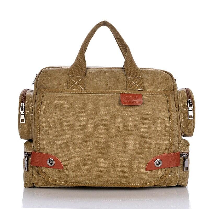 ФОТО Designer Brand Man's Casual Canvas Crossbody Bag Shoulder Messenger Bag Women Handbag