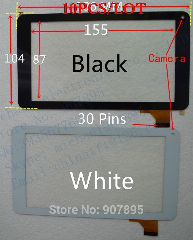 ФОТО 10pcS 2pcS 7inch !! U28gt y7y007 86v 86VS touch screen capacitive screen handwritten screen touch screen TPC-51055 V3.0
