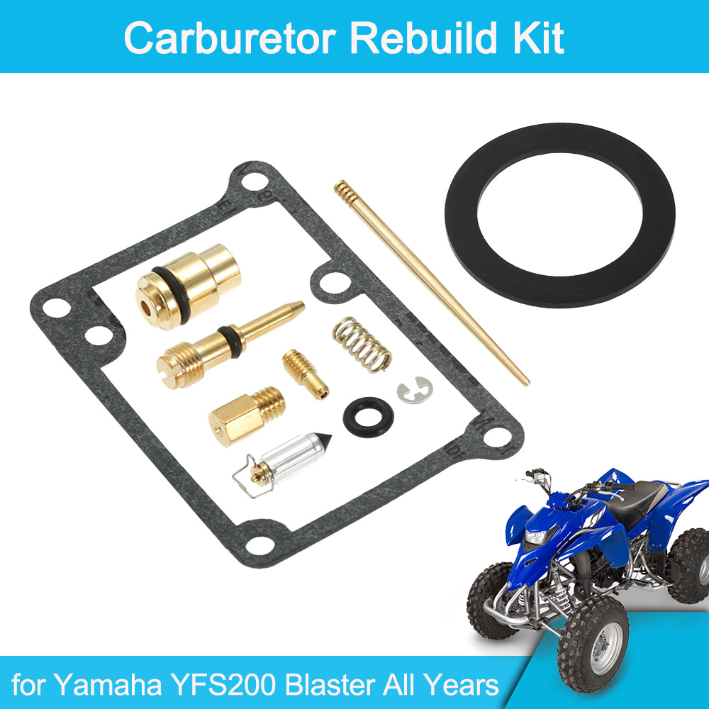 Yamaha Blaster Carburetor Rebuild