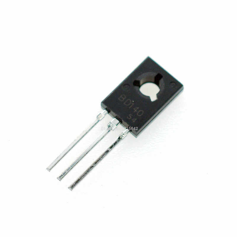 20 stks/partij BD140 D140 TO-126 NPN 1.5A 80 V Silicon PNP Epitaxial Vermogen Triode Transistor Nieuwe