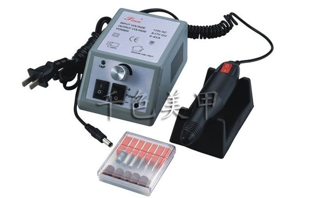 Nail Art Dremel Machine Manicure Beauty Salon Equipment Electric Nails File Ponceuse Ongle Drill Electrique