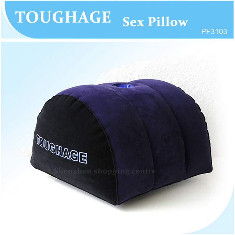 TOUGHAGE Sex Pillow Inflatable Erotic Sex Furniture Multifunction PVC Sex Cushion Machine Pad Adult Sex Toys For Couples PF3103 new 2pcs set toughage inflatable sex love cushion adult sex furniture sofa cushion sex machine for men adult sex toys for women