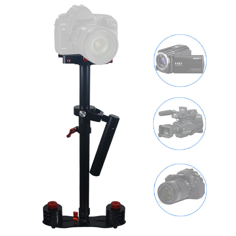 Mcoplus 80cm Protable handheld stabilizer Aluminium Handheld Video Camera Steadicam Steadycam for Video DV Camcorder & DSLR mcoplus professional handheld stabilizer video steadicam for digital hdslr dslr rig shoulder mount dv camera camcorder