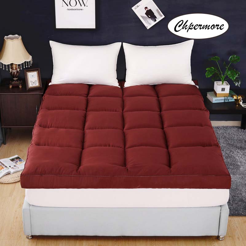 Image 2 - Chpermore high quality five star hotel Mattress Thicken Keep warm Tatami Foldable Mattresses Bedspreads King Queen Twin Size-in Mattresses from Furniture