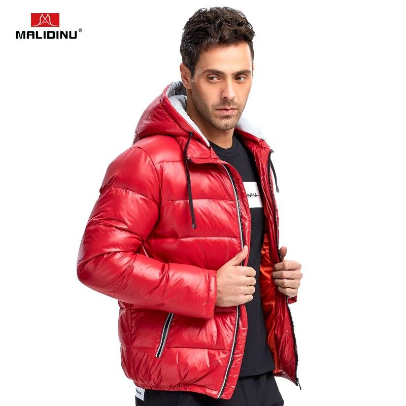 48 56 Men Winter Brand 40 Degree Warm Fleece Jacket Parkas Coat Men Windbreak Casual Thick