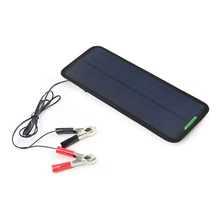 18V 7.5W Solar Panel Charger Sunpower Cells Solar Battery For Car Boat Motorcycles Lead Acid Battery