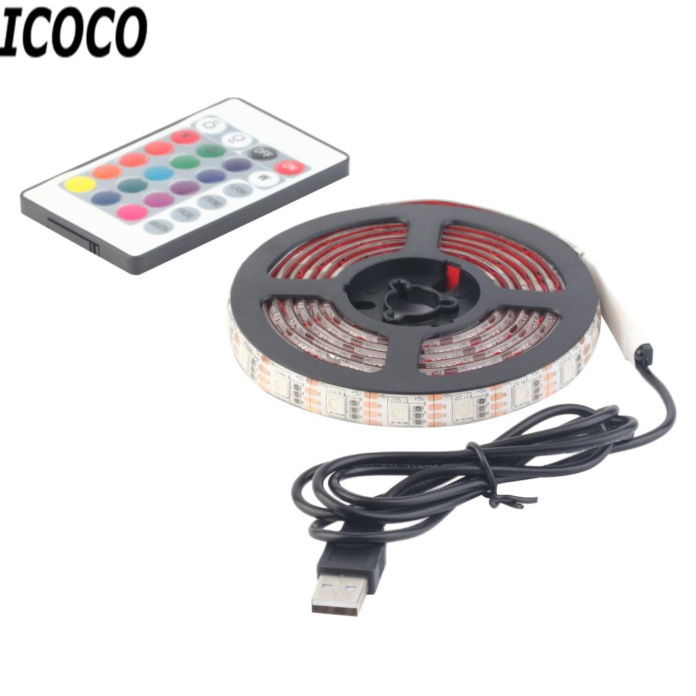 ICOCO 1 unids 12 RGB 5050 SMD LED Negro / Blanco Impermeable / - Iluminación LED