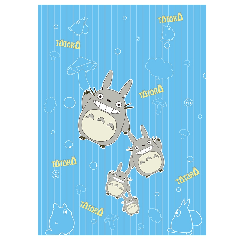 Anime Jk Japan Pikachu Tonari No Totoro Psyduck Madara Cosplay Flannel Blanket 1.5*2m Cartoon On Bed Plush Sleep Cover Bedding Costumes & Accessories