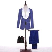 2017 Sale Blazer Set Latest Pant Coat Designs Suits Business Men Formal Wear Fashion Wedding Dress
