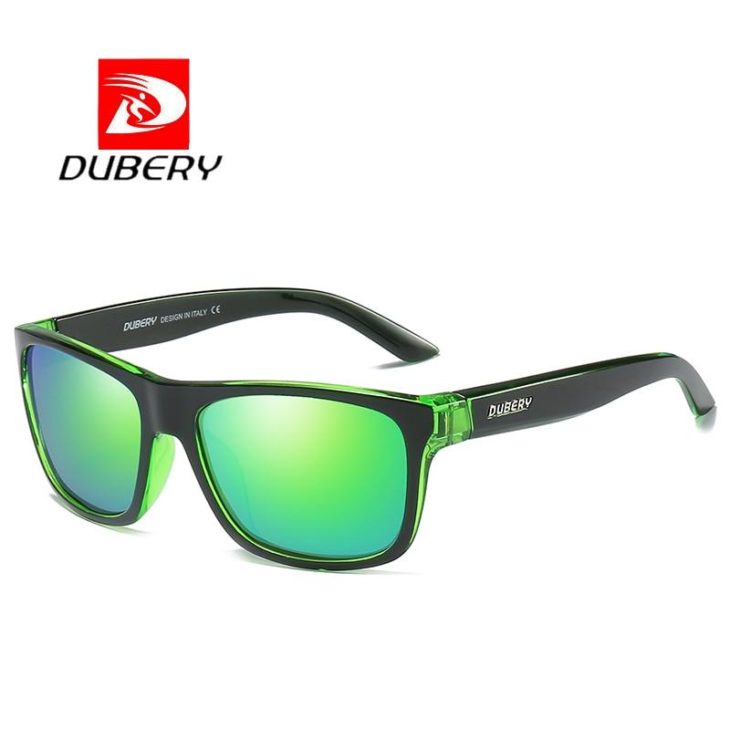 DUBERY Polarized Sunglasses Men/'s Aviation Driving Shades Male Sun Glasses For
