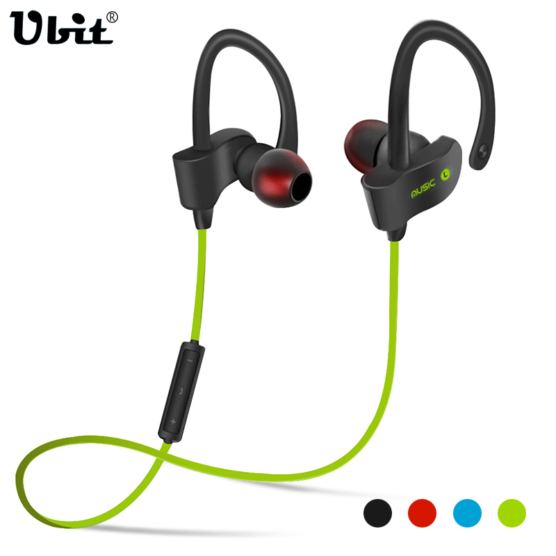Ubit 56S Sport In-Ear Wireless Bluetooth Earphone Stereo Earbuds Casti Bass Casti cu mic pentru iPhone 6 Telefon Samsung