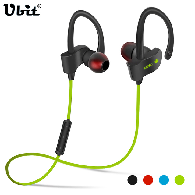993c5b5fece Ubit 56S Sports In-Ear Wireless Bluetooth Earphone Stereo Earbuds Headset  Bass Earphones with Mic for iPhone 6 Samsung Phone