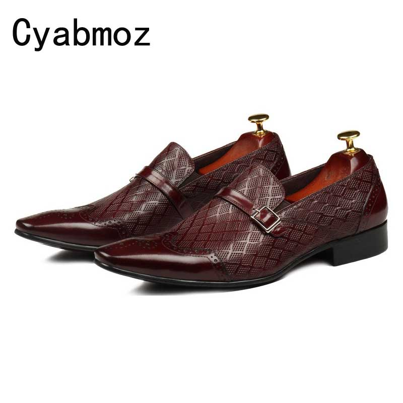 new fashion buckle derby shoes genuine leather business mens wedding shoes mens dress shoes brogue Carved oxfords shoes Footwear 2016 luxury mens goodyear welted oxfords shoes vintage boss brogue shoes italian mens dress shoes elegant mens gents shoes derby