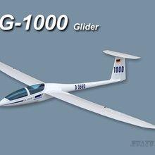 DG-1000 Наклонный планер 2630 мм ARF без электронной Стекловолоконная модель RC самолет
