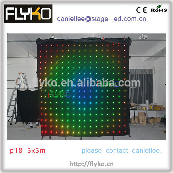 led video curtain 9