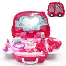 Kids Girls Kitchen Pretend Play Mini A make-up car fruits and vegetables miniature food zabawki dla dzieci toys for children janusz niżyński bajki dla dzieci stories for kids