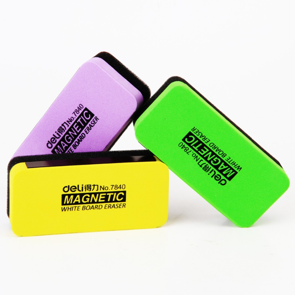 2 Pcs/Lot 3-Color Fashion Whiteboard Eraser For School Stationery & Office Supply