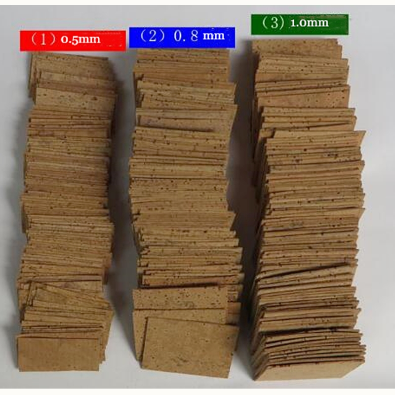 Saxophone Keys Corks Clarinet Cork 0.5,0.8,1.0mm Thickness Flute Corks Sets Wood Wind Musical Instruments Accessories