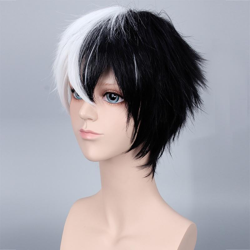 Capelli corti bianco e nero