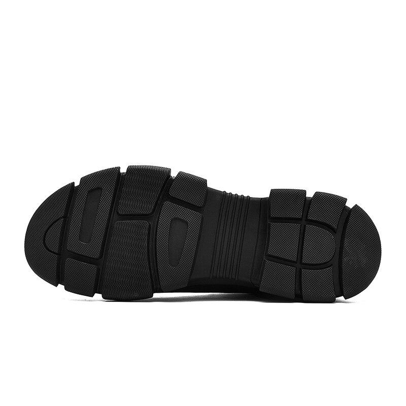 New Hommes Cuir Haute 1 Qualité 3 De Roman Times À Hiver Véritable Lacets 2 4 Mode Cheville Bottes Chaussures En Automne dqXSIBIw